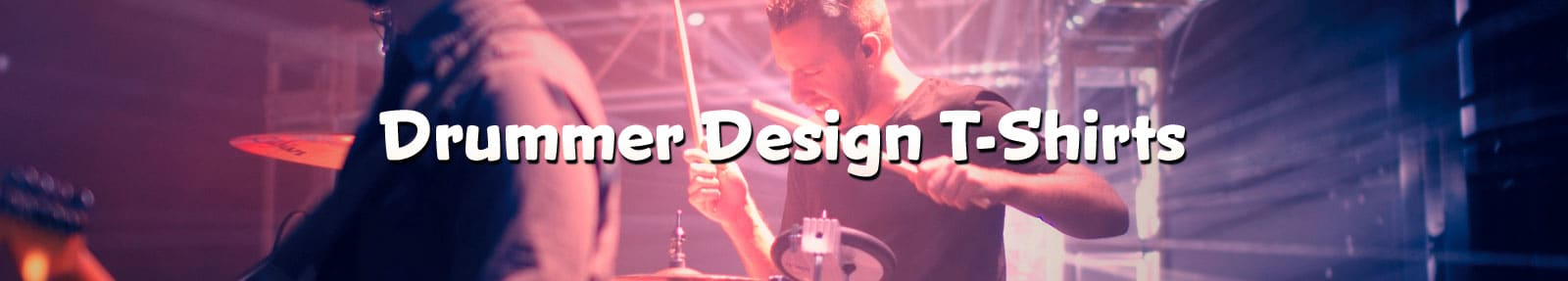 Drummer Design T-Shirts